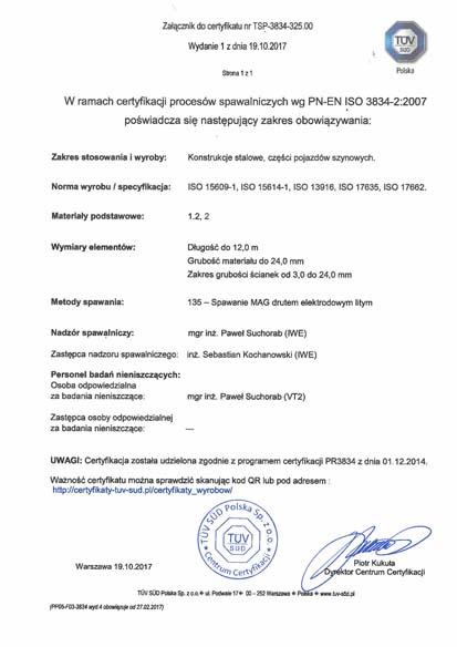 Certyfikaty Spawalnicze Pemes Produkcja_Strona_2