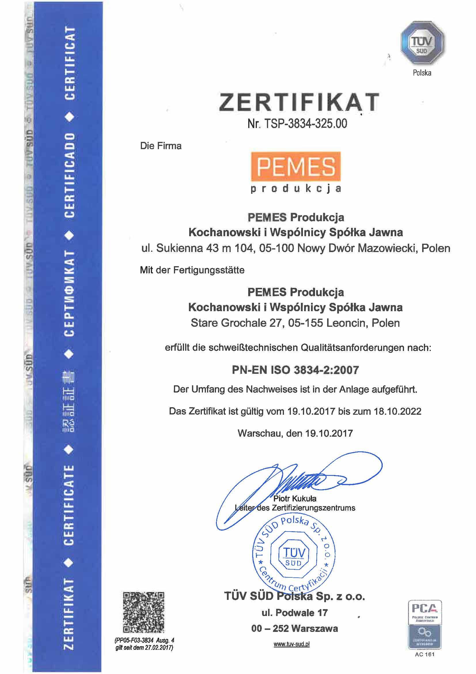 Certyfikaty Spawalnicze Pemes Produkcja_Strona_5