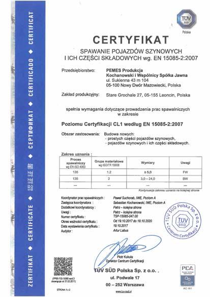Certyfikaty Spawalnicze Pemes Produkcja_Strona_7